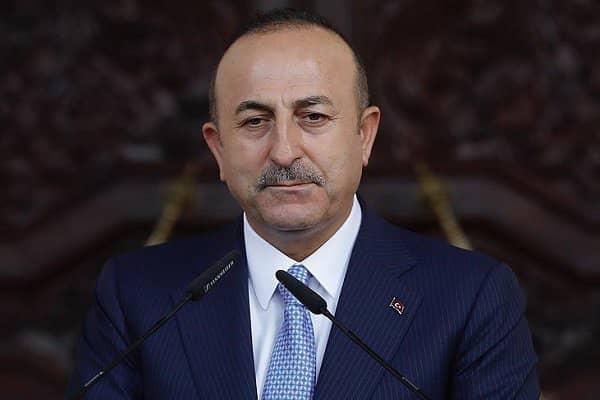 گفتوی وزرای خارجه ترکیه و یونان
