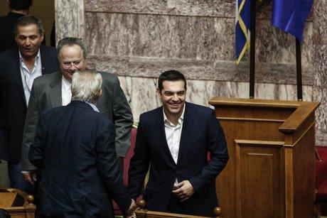 رد رای عدم اعتماد دولت یونان