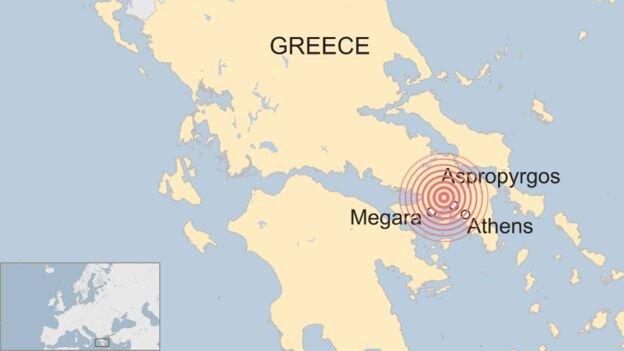 پایتخت یونان ۵.۱ ریشتر لرزید