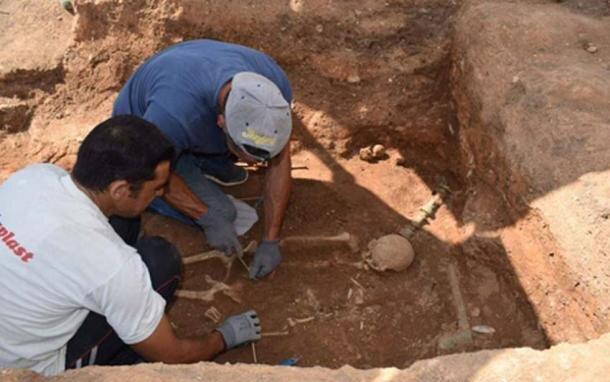 کشف مقبره باستانی در یونان